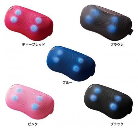 ドクターエア 3DマッサージピローSの色